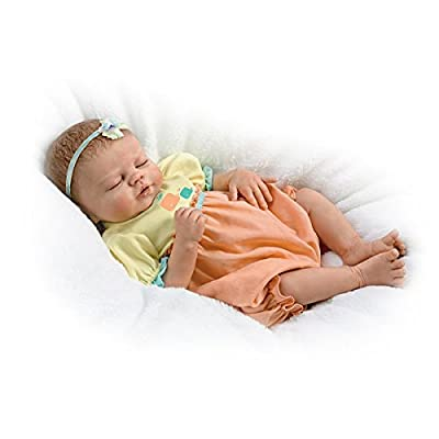 Baby of Mine So Truly Real Lifelike & Realistic Weighted Newborn Baby Doll 17-inches by The Ashton-Drake Galleries: Home & Kitchen
