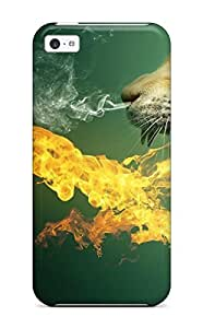 Fashionable Style Case Cover Skin For Iphone 5c- K Wallpapers Animal
