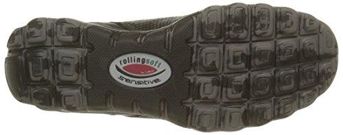 Gabor Ladies Rollingsoft Scarpe Da Corsa Grigio (argento / Grap (s.cf) 49)