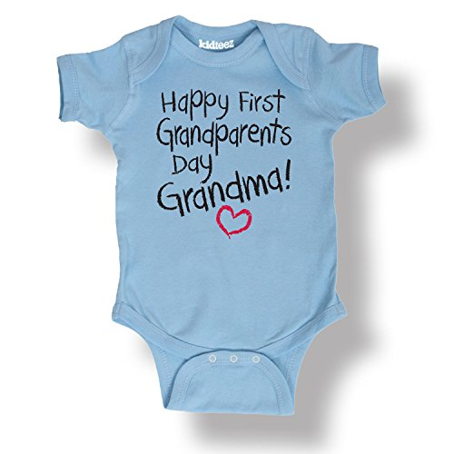 2013 Gp Air - Instant Message Happy First GP's Day Grandma-INFANT One Piece-NB