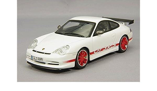 Amazon com: AUTOart 1/43 Porsche 911 (996) GT3 RS 04 (red white