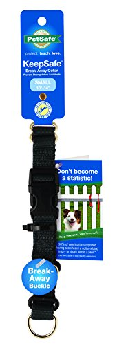 PetSafe KeepSafe Break-Away Collar, Prevent Collar Accidents your Dog Puppy, Improve Safety, Compatible Leash Use, Adjustable Sizes