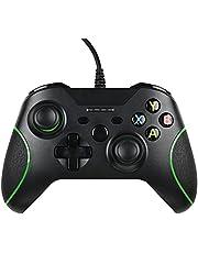 Wired Controller för Xbox One, kabelansluten Xbox One Controller Xbox PC gamepad X One med dubbel vibration och 3,5 mm hörlursuttag för Xbox One Xbox Series S/X/PS3/PC Windows 7/8/10