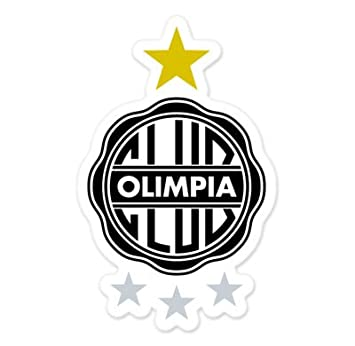 Club Olimpia - Paraguay Football Soccer Futbol - Car Sticker - 5""