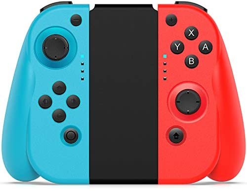 Wireless Controller for Switch, BestOff Joypad Replacement with Redesigned Ergonomic Hand Grip, L/R Remotes Wireless Gamepad Joy Con Controllers for Nintendo Switch 2020 Version