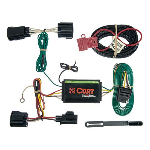 CURT 56140 Vehicle-Side Custom 4-Pin Trailer Wiring Harness for Select Ford Focus