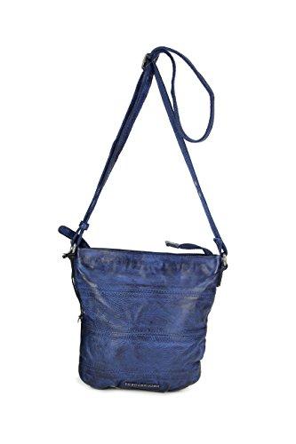 FREDsBRUDER - Bolso cruzados para mujer marrón Oak buff azul marino