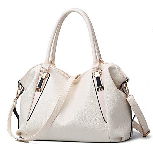 Cloudbag Hb30118 Pu Leather Handbag For Women Trend Solid Shell Bag   2016 Pink