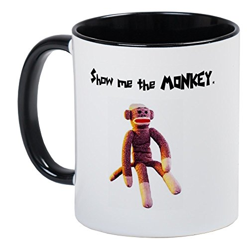 Gift Monkey Unique (CafePress - Sock Monkey Items Mug - Unique Coffee Mug, Coffee Cup)