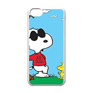 Charlie Brown And Snoopy iPhone 5c Cell Phone Case White persent xxy002_6840606