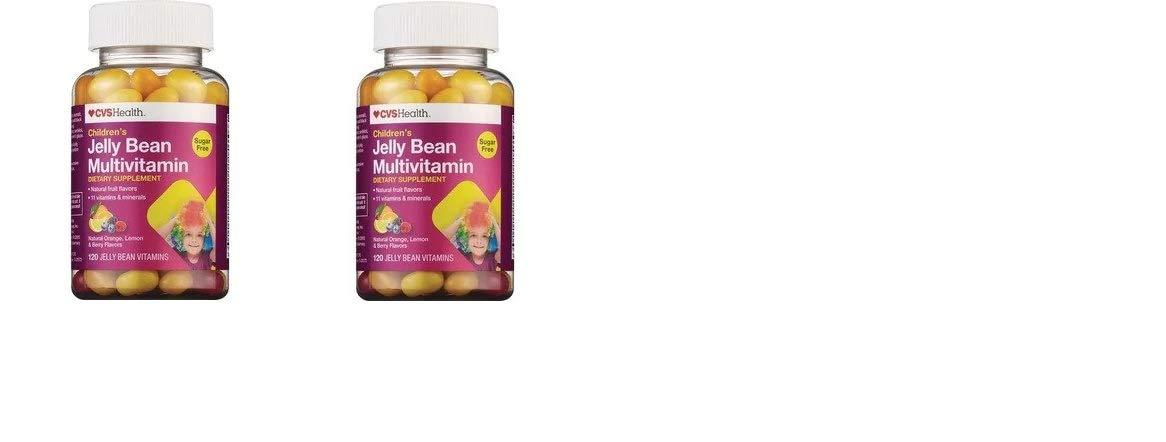 CVS Health Children's Jelly Bean Multivitamin 200 Count(Pack of 2)