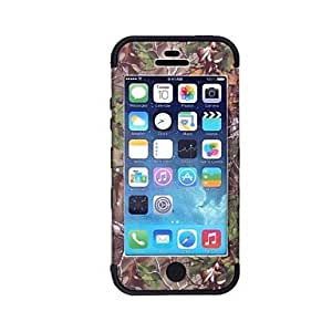 DD Tree Branch Pattern Protective Silicone Case for iPhone 5 (Assorted Colors) , Pink