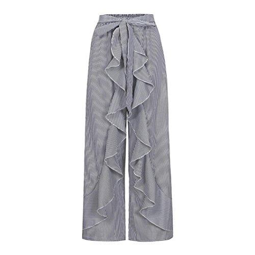 pantaloni larga alta pantaloni estivo pantaloni lunghi donna eleganti vita larghi beautyjourney donna pantalone donna harem Nero donna pantaloni estivi largo Pantaloni donna donna wqH1PR1T