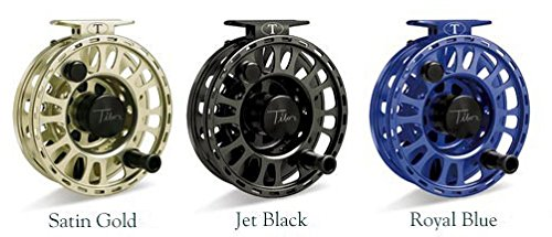 Tibor Signature 11-12 Fly Reel with Black Hub and Free $80 Gift Card (Satin (Tibor Trout Reel)