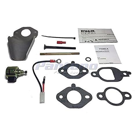 c9433b7371e Amazon.com   Kohler OEM Engine Repair Kit Solenoid Fuel Shut-Off 25 757  25-S   Garden   Outdoor