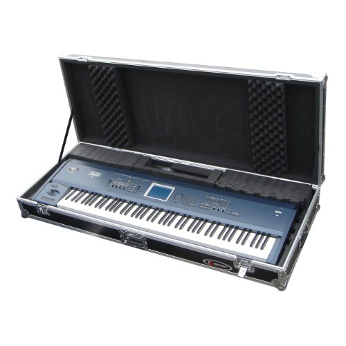 Odyssey FZKB88W Flight Zone Universal 88 Note Keyboard Ata Case With Wheels -