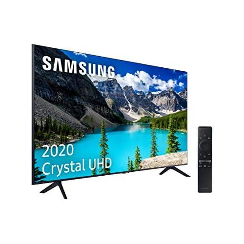 chollos oferta descuentos barato Samsung Crystal UHD 2020 50TU8005 Smart TV de 50 con Resolución 4K HDR 10 Crystal Display Procesador 4K PurColor Sonido Inteligente One Remote Control y Asistentes de Voz Integrados