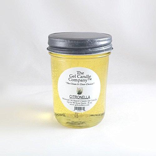 (Citronella 90 Hour Gel Candle Classic Jar )