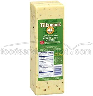 product image for Tillamook Pepper Jack Cheese, 5 Pound -- 2 per case.