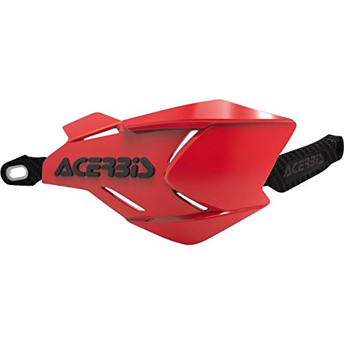 Acerbis Atv - X-FACTORY HANDGUARD RED/BLACK