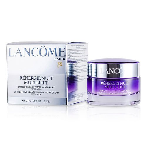 LANCOME by Lancome Renergie Multi-Lift Lifting Firming Anti-Wrinkle Night Cream -50ml/1.7oz for WOMEN -(Package Of 3) ()