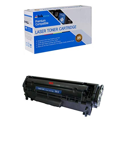 (Inksters Compatible Toner Cartridge Replacement for HP 12A (Q2612A) Black MICR - Compatible with Laserjet 101010121015101810201022 1022n 1022nw30153020303030503055M1319f MFPM1005 MFP)