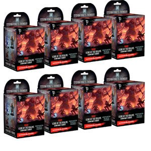 - NECA Icons of The Realms: Standard Booster 8 Count Brick - Storm King's Thunder