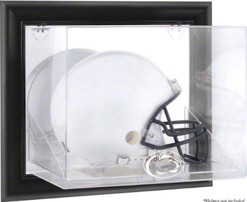 Penn State Nittany Lions Framedロゴ壁マウント可能ヘルメットディスプレイケース B006HCD9Q2 ブラウン