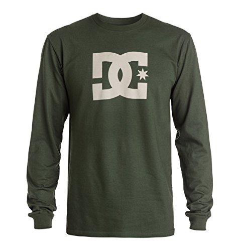 DC Shoes Mens Shoes Star - Long Sleeve T-Shirt - Men - M - Black Duffel Bag M ()