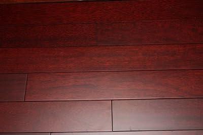 "Kingsport Brazilian Cherry Red 3/4"" x 4"" Exotic Solid Hardwood Flooring NH117 SAMPLE"