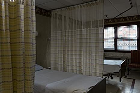 Hospital Curtain Cubicle Medical Curtains   Hospital Bed, Room Divider  Privacy Curtain   Machine Washable