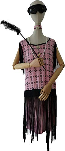 M and H Hong Kong M&H Women Girl's Pink Lady Costumes