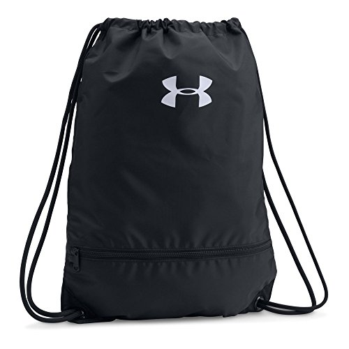 Under Armour Team Sackpack Bag,Black (001)/White, One Size