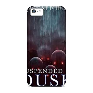 Shock-Absorbing Hard Phone Case For Iphone 5c With Unique Design Beautiful Strange Magic Series CharlesPoirier