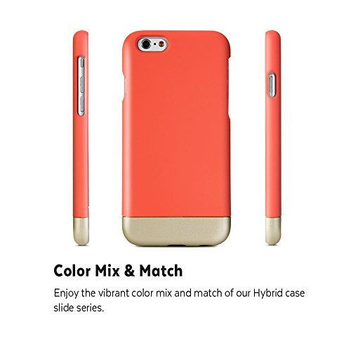 iPhone 6 Plus (5.5 Display) Hülle, GMYLE Hybrid Case Slide für iPhone 6 Plus (5.5 Display) - Hybrid TPU Protective Hard Shell Hülle