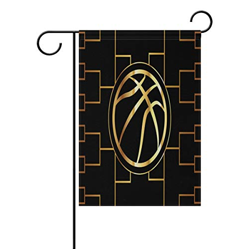 lightly Sweet Home Garden Flag Vertical Double Sided Spring Summer Duffel Bag Basketball Tournament Bracket Outdoor Yard Flags Decorative 28x40 Inch
