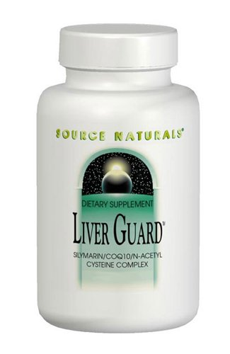Source Naturals Liver Guard - Silymarin, CoQ10, N-Acetyl Cysteine Complex -120 Tablets by Source Naturals