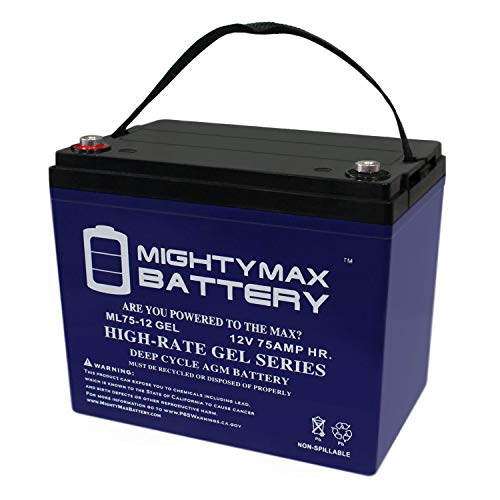 Mighty Max Battery 12V 75AH Gel Battery Replacement for sale  Delivered anywhere in USA
