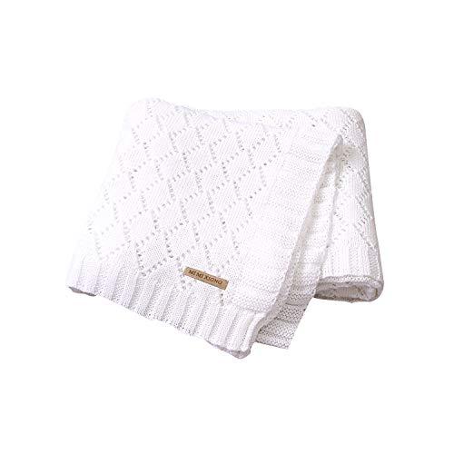Months 70 X 100cm  Baby Blankets Pram Crib Moses Basket Boy Girl Unisex 0