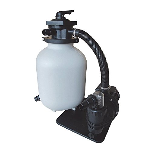 AquaForte Sandfilterset SQ300-Junior für 35m³ Schwimmbad, Pumpe 7,5m³/h, 250W Sibo B.V. RD374