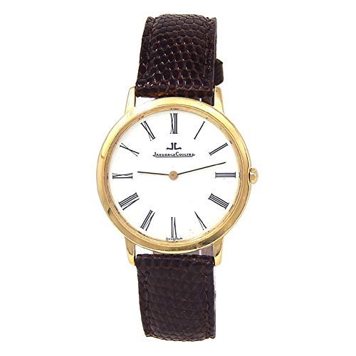 (Jaeger LeCoultre Vintage Collection Analog-Quartz Male Watch 140.118.1 (Certified Pre-Owned))