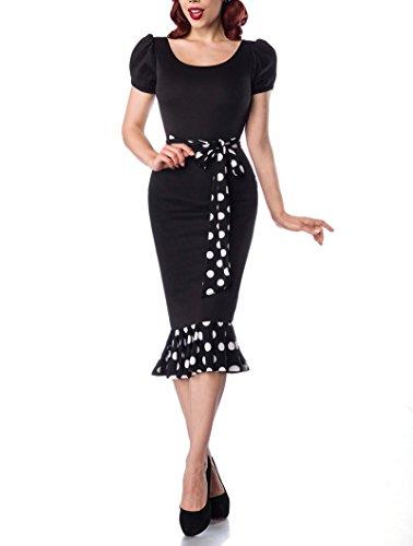 Belsira Jersey Dress with Puff Sleeves XS (Jersey Sleeve Dress Puff)