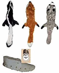 Skineez MINI No Stuffing Dog SET