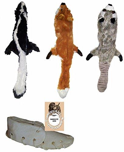 Skineez SKINNEEEZ Skinneez No Stuffing Dog Toy Set Size:Small