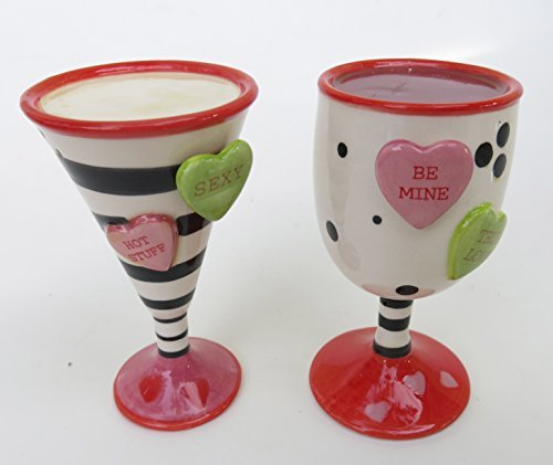 martini salt and pepper shakers - 5