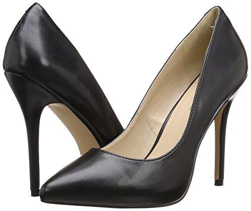 Zapatos Faux Pleaser Leather Amuse Para Negro Cerrados blk Mujer 20 q4SU4wRa