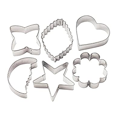 Wilton Metal Cookie Cutters - Classic Shapes