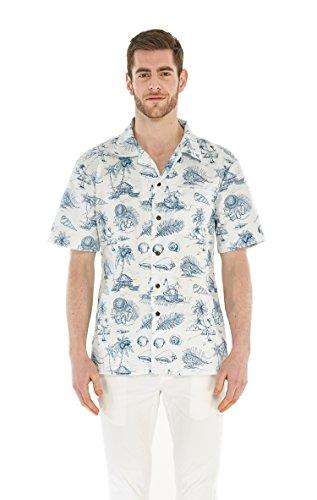 Hawaii Hangover Mens Hawaiian Shirt Aloha Shirt Vintage Tropical Toile