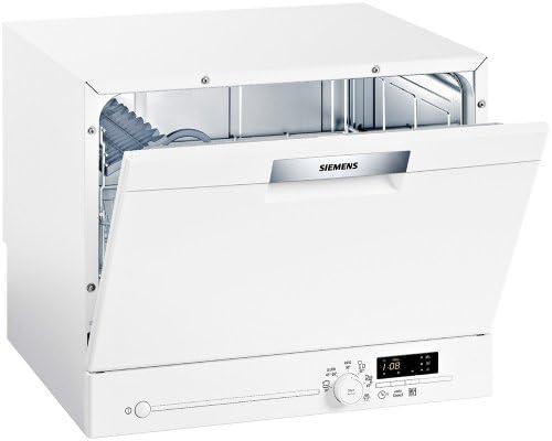 Siemens SK26E201EU lavavajilla - Lavavajillas (Mini, Color blanco ...