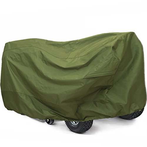 "RORAIMA Lawn Mower Tractor Cover with Elastic Hems to Fit a Deck up to 54"" Green Color Product Size 72"" L x 44"" W x 46"" H (Green Color)"